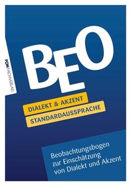 Abbildung von Willikonsky | BEO Dialekt und Akzent Standardaussprache | 2020 | Beobachtungsbogen zur Einschät...