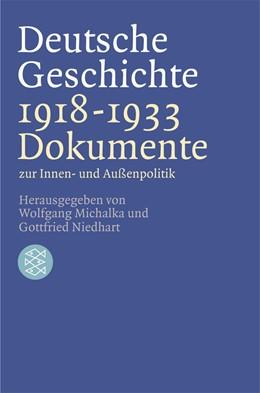 Abbildung von Michalka / Niedhart | Deutsche Geschichte 1918 - 1933 | 1. Auflage | 2002