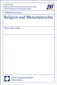 Abbildung von Höver | Religion und Menschenrechte | 2001