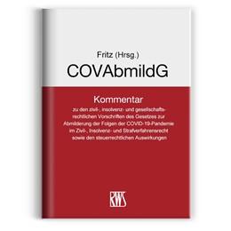 Abbildung von Fritz (Hrsg.)   COVAbmildG   2020