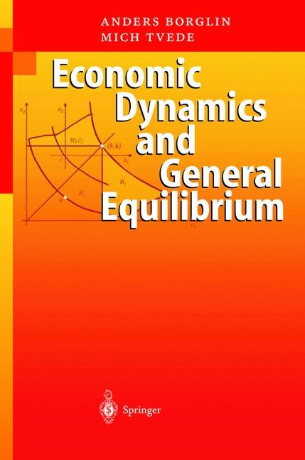 Abbildung von Borglin | Economic Dynamics and General Equilibrium | 2003