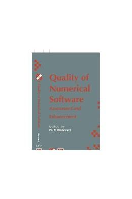 Abbildung von Boisvert | Quality of Numerical Software | 1997 | Assessment and enhancement