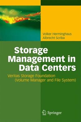 Abbildung von Herminghaus / Scriba | Storage Management in Data Centers | 2009