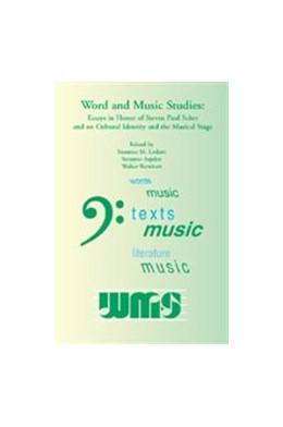 Abbildung von Word and Music Studies | 2002 | Essays in Honor of Steven Paul... | 4