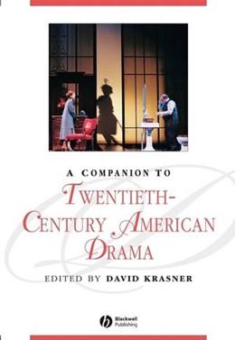 Abbildung von Krasner | A Companion to Twentieth-Century American Drama | 2007