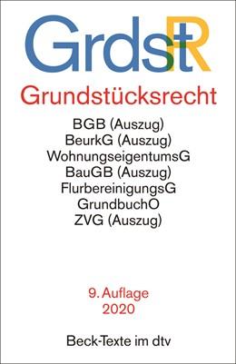 Abbildung von Grundstücksrecht: GrdstR | 9. Auflage | 2020 | 5586 | beck-shop.de