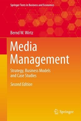 Abbildung von Wirtz   Media Management   2nd ed. 2020   2020   Strategy, Business Models and ...