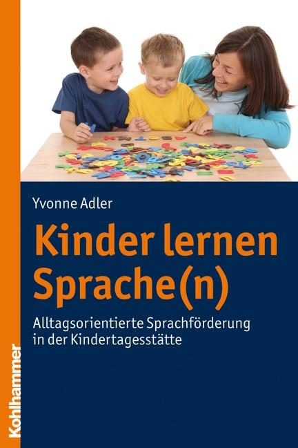 Kinder lernen Sprache(n) | Adler, 2011 | Buch (Cover)