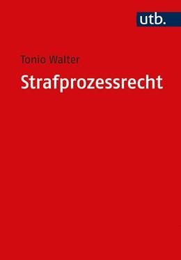 Abbildung von Walter | Strafprozessrecht | 1. Auflage | 2020 | beck-shop.de