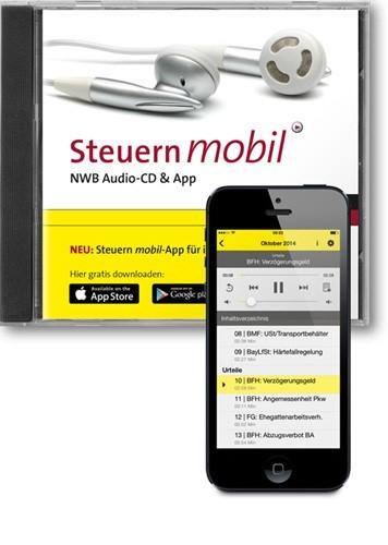 Abbildung von Steuern mobil • Die NWB Audio-CD