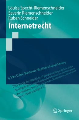 Abbildung von Specht-Riemenschneider / Riemenschneider | Internetrecht | 1. Auflage | 2020 | beck-shop.de