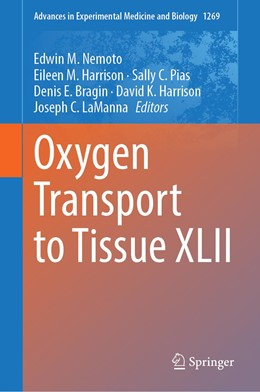 Abbildung von Nemoto / Harrison   Oxygen Transport to Tissue XLII   1. Auflage   2020   1269   beck-shop.de