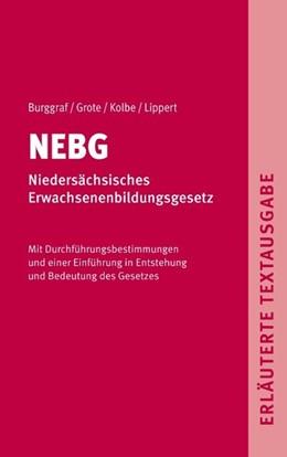Abbildung von Dietrich / Detlef | NEBG - Niedersächsisches Erwachsenenbildungsgesetz | 1. Auflage | 2020 | beck-shop.de