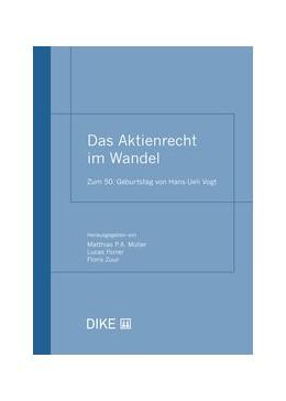Abbildung von Müller / Forrer | Das Aktienrecht im Wandel | 1. Auflage | 2020 | beck-shop.de