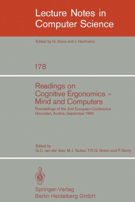 Abbildung von Veer / Tauber / Green / Gorny   Readings on Cognitive Ergonomics, Mind and Computers   1984