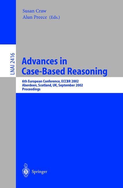 Abbildung von Craw / Preece | Advances in Case-Based Reasoning | 2002