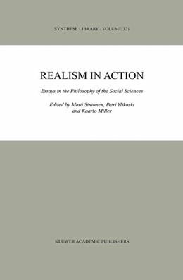 Abbildung von Sintonen / Ylikoski / Miller | Realism in Action | 2003 | 2003 | Essays in the Philosophy of th... | 321