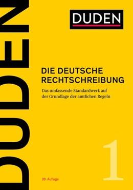 Abbildung von Duden - Die deutsche Rechtschreibung | 28. Auflage | 2020 | Band 1 | beck-shop.de
