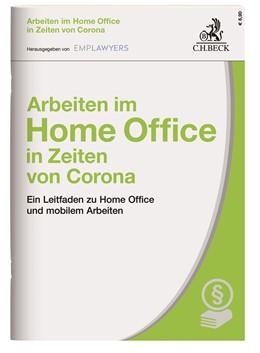 Abbildung von Arbeiten im Home Office in Zeiten von Corona | 2020 | Ein Leitfaden zu Home Office u...