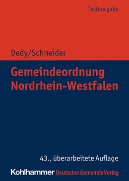 Abbildung von Dedy / Schneider | Gemeindeordnung Nordrhein-Westfalen | 43. Auflage | 2020 | beck-shop.de