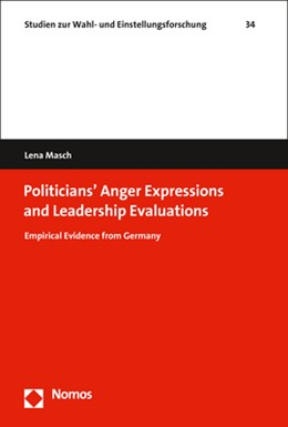 Abbildung von Masch | Politicians' Expressions of Anger and Leadership Evaluations | 2020 | Empirical Evidence from German...