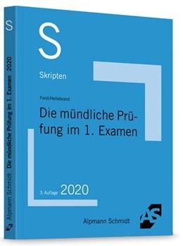 Abbildung von Forst / Hellebrand | Skript Die mündliche Prüfung im 1. Examen | 3. Auflage | 2020 | beck-shop.de