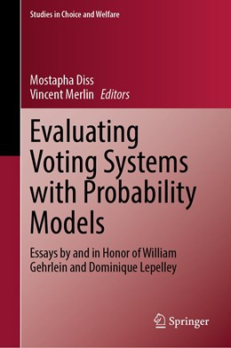 Abbildung von Diss / Merlin | Evaluating Voting Systems with Probability Models | 1st ed. 2020 | 2020 | Essays by and in Honor of Will...