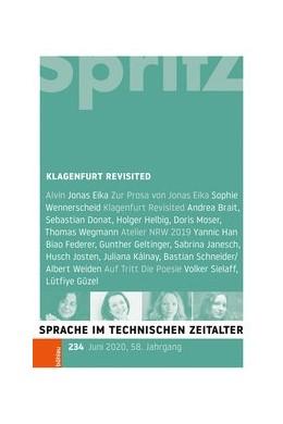 Abbildung von Sartorius / Miller / Geiger | Klagenfurt Revisited | 1. Auflage | 2020 | Sprache im technischen Zeitalt...