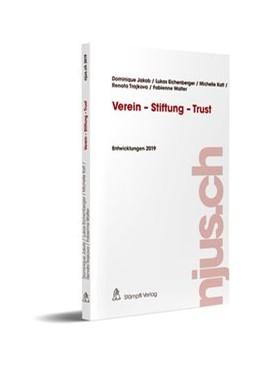 Abbildung von Jakob / Eichenberger | Verein - Stiftung - Trust | 1. Auflage | 2020 | 2019 | beck-shop.de