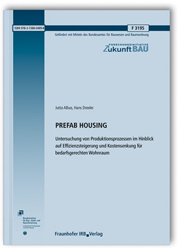 Abbildung von Albus / Drexler | PREFAB HOUSING. | 1. Auflage | 2020 | beck-shop.de