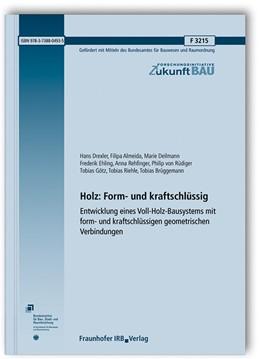 Abbildung von Drexler / Almeida | Holz: Form- und kraftschlüssig. | 1. Auflage | 2020 | beck-shop.de