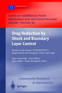 Abbildung von Stanewsky / Delery / Fulker / Matteis | Drag Reduction by Shock and Boundary Layer Control | 2002 | Results of the Project EUROSHO... | 80