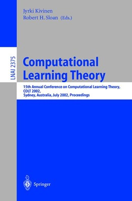 Abbildung von Kivinen / Sloan | Computational Learning Theory | 2002 | 15th Annual Conference on Comp...