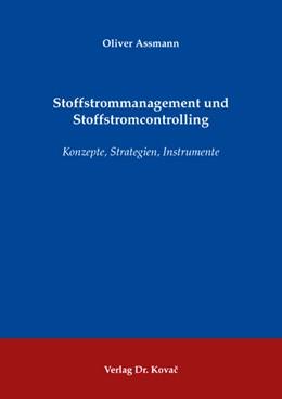 Abbildung von Assmann | Stoffstrommanagement und Stoffstromcontrolling | 2008