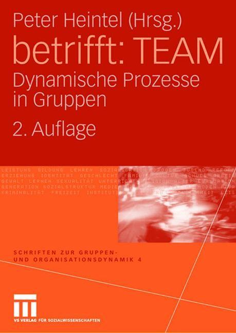 Abbildung von Heintel | betrifft: TEAM | 2. Aufl. 2008 | 2008