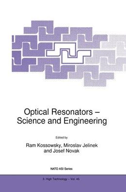 Abbildung von Kossowsky / Jelinek / Novák | Optical Resonators — Science and Engineering | 1998 | Proceedings of the NATO Advanc... | 45