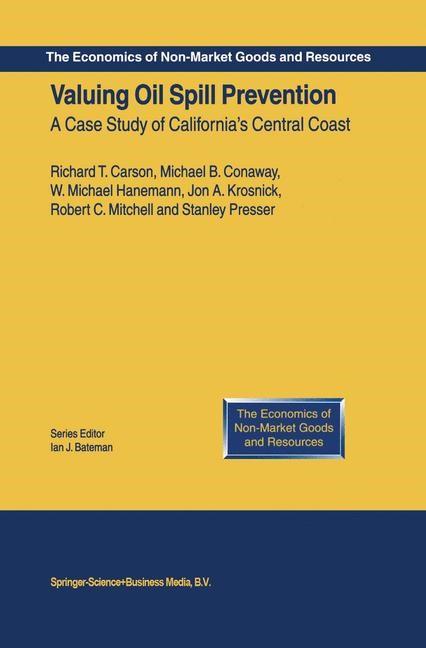 Abbildung von Carson / Conaway / Hanemann | Valuing Oil Spill Prevention | 2004