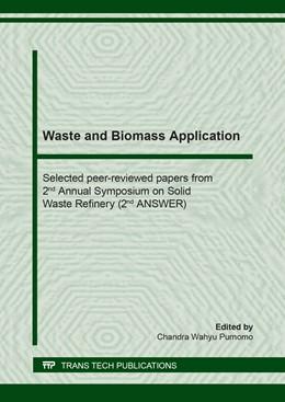 Abbildung von Purnomo | Waste and Biomass Application | 1. Auflage | 2020 | beck-shop.de