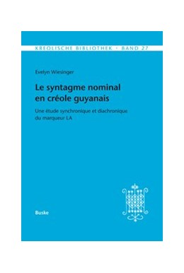 Abbildung von Wiesinger | Le syntagme nominal en créole guyanais | 2017 | Une étude synchronique et diac... | 27