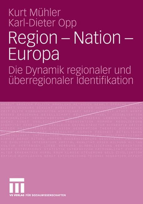 Region - Nation - Europa | Mühler / Opp, 2006 | Buch (Cover)