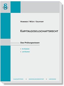 Abbildung von Hemmer / Wüst   Kapitalgesellschaftsrecht   6. Auflage   2020   beck-shop.de