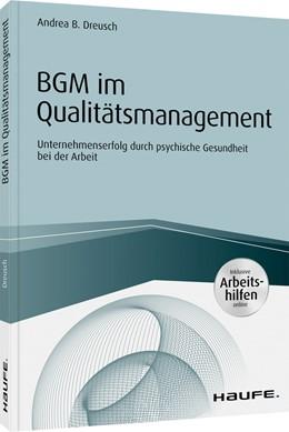 Abbildung von Dreusch | BGM im Qualitätsmanagement | 1. Auflage | 2020 | beck-shop.de