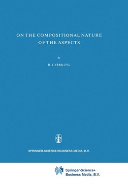 Abbildung von Verkuyl | On the Compositional Nature of the Aspects | 1972 | 15