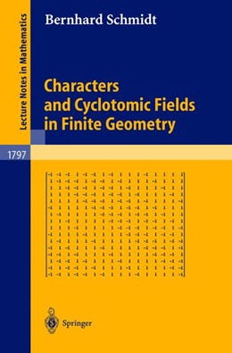 Abbildung von Schmidt | Characters and Cyclotomic Fields in Finite Geometry | 2002 | 1797