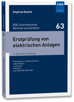 Abbildung von Rudnik | Erstprüfung von elektrischen Anlagen | 6. Auflage | 2020 | beck-shop.de