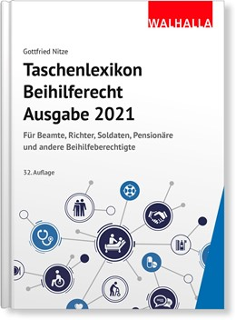 Abbildung von Nitze | Taschenlexikon Beihilferecht Ausgabe 2021 | 32. Auflage | 2020 | beck-shop.de