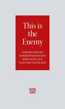 Abbildung von This is the Enemy | 1. Auflage | 2020 | beck-shop.de