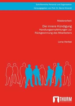 Abbildung von Herbst   Die innere Kündigung   2020   Handlungsempfehlungen zur Rück...