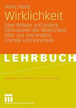 Abbildung von Abels | Wirklichkeit | 2009 | Über Wissen und andere Definit...