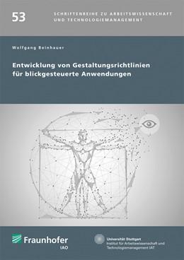 Abbildung von Spath / Beinhauer | Entwicklung von Gestaltungsrichtlinien für blickgesteuerte Anwendungen. | 1. Auflage | 2020 | 53 | beck-shop.de